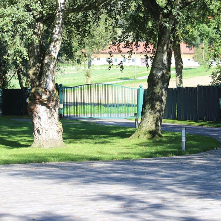 Urlaubskörbchen - auf dem Hof